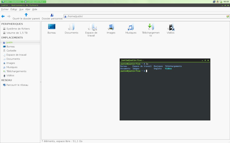 Prise d'écran de environnement de bureau - 1