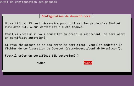 Installation d'un serveur d'e-mails avec Postfix et Dovecot sur un serveur dédié Kimsufi sous Ubuntu Server 14.04 LTS - Configuration du paquet dovecot-core