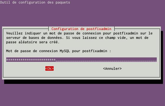 Installation d'un serveur d'e-mails avec Postfix et Dovecot sur un serveur dédié Kimsufi sous Ubuntu Server 14.04 LTS - Configuration du paquet postfixadmin - Partie 5