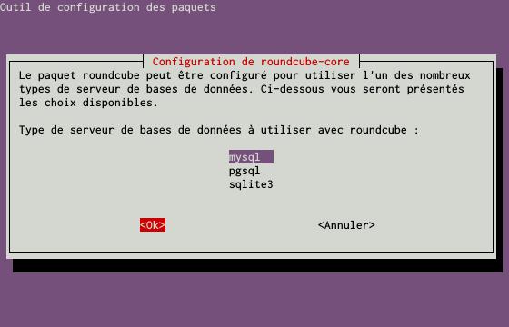 Installation d'un serveur d'e-mails avec Postfix et Dovecot sur un serveur dédié Kimsufi sous Ubuntu Server 14.04 LTS – Configuration de Roundcube – Partie 2