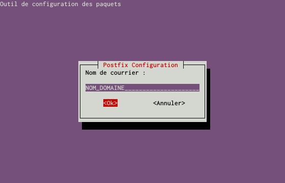 Installation d'un serveur d'e-mails avec Postfix et Dovecot sur un serveur dédié Kimsufi sous Ubuntu Server 14.04 LTS - Configuration du paquet postfix - Partie 4