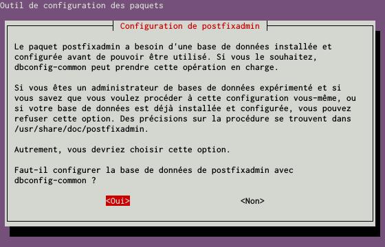 Installation d'un serveur d'e-mails avec Postfix et Dovecot sur un serveur dédié Kimsufi sous Ubuntu Server 14.04 LTS - Configuration du paquet postfixadmin - Partie 2