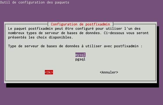 Installation d'un serveur d'e-mails avec Postfix et Dovecot sur un serveur dédié Kimsufi sous Ubuntu Server 14.04 LTS - Configuration du paquet postfixadmin - Partie 3