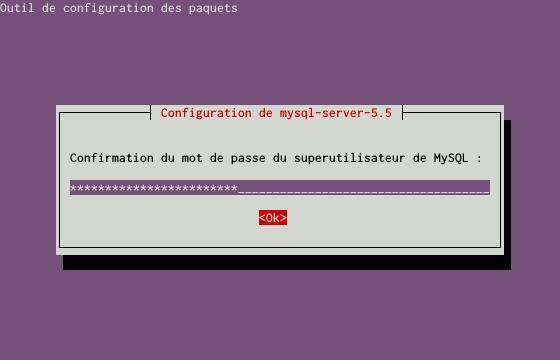 Installation du SGBDR MySQL sur un serveur dédié Kimsufi sous Ubuntu Server 14.04 LTS - Installation du paquet MySQL - Étape 2