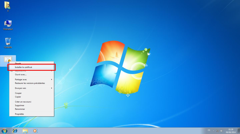Configuration des comptes e-mails pour Microsoft Outlook - Étape 01