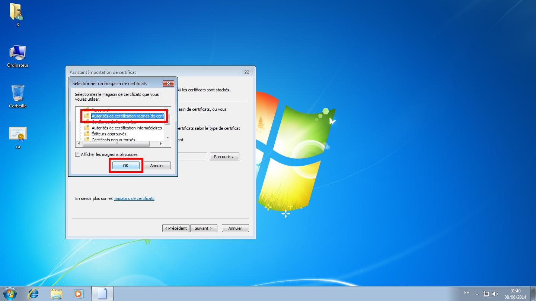 Configuration des comptes e-mails pour Microsoft Outlook - Étape 04